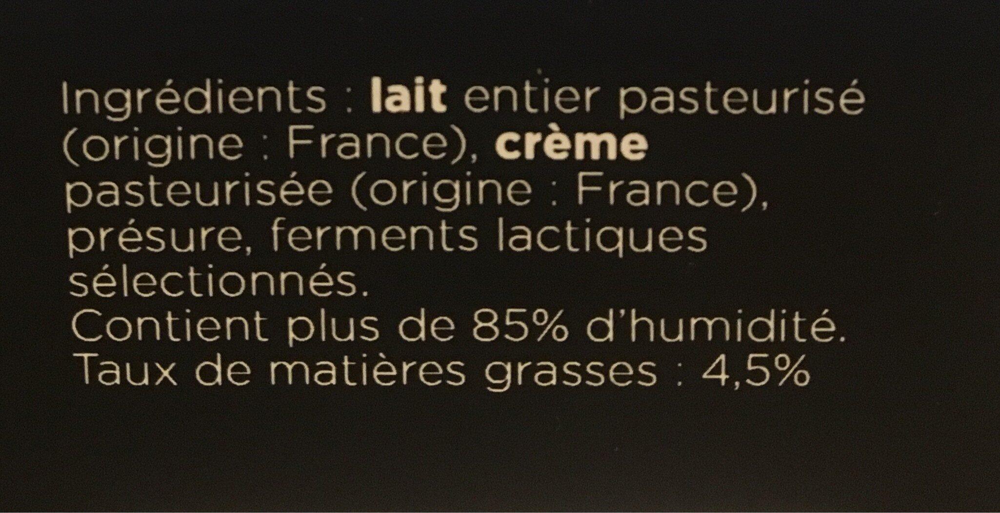 La Faisselle Duo - Ingredients