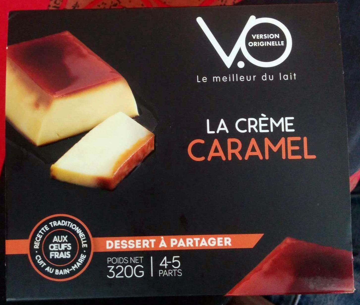 La Crème Caramel - Producto