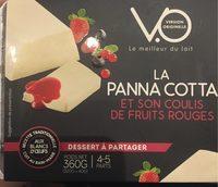 La panna cotta - Product - fr