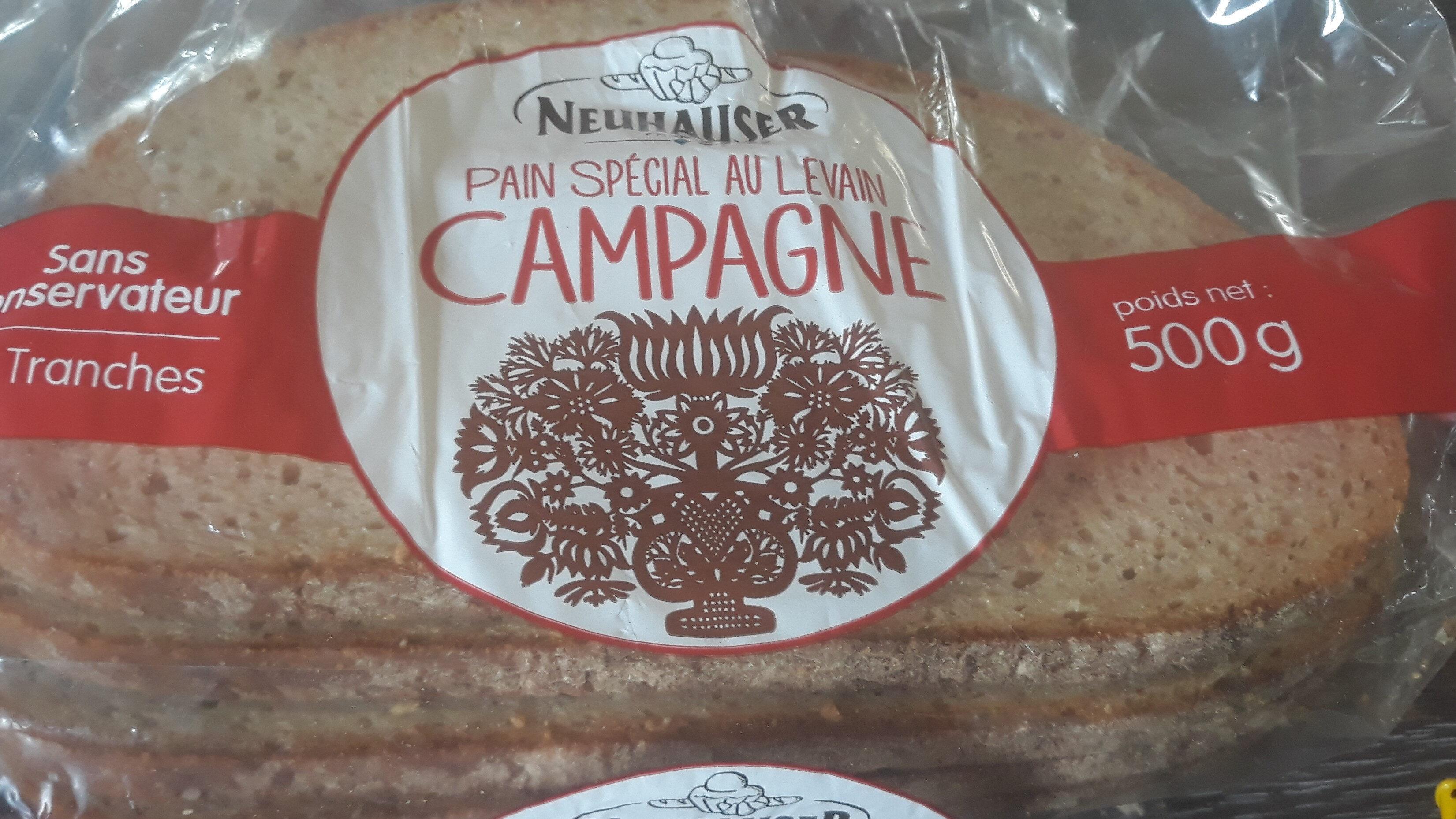 Pain spécial au levain campagne - Product - fr