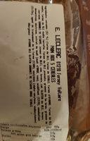 pain aux 5 céréales - Ingrédients - fr