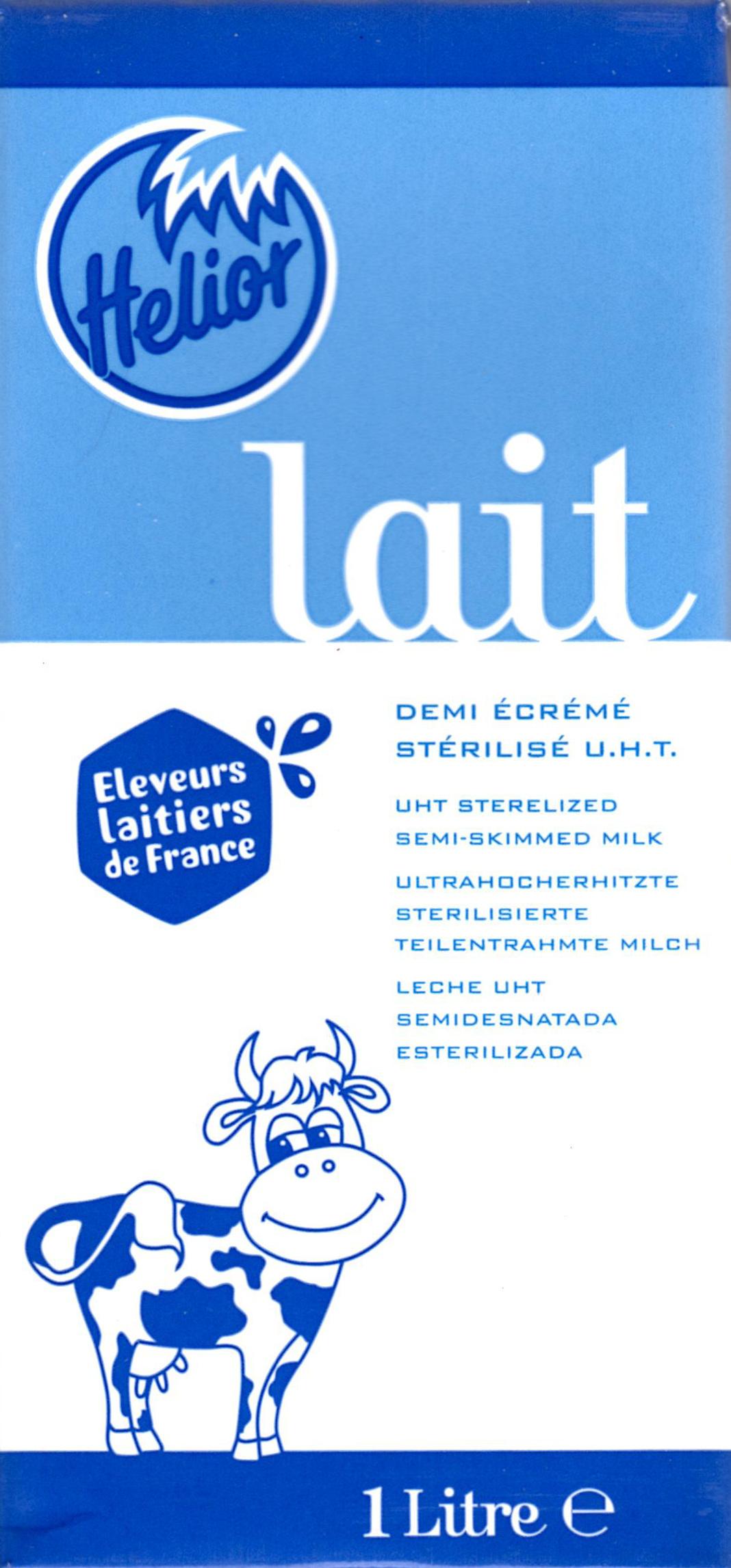 Lait Demi-Écrémé Stérilisé UHT - Product