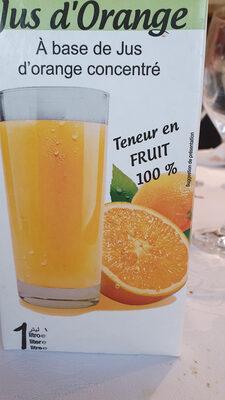 Jus De Fruit Brick Helior Orange - Product