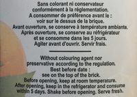 Jus De Fruit Brick Helior Orange - Ingrediënten