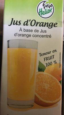 Jus De Fruit Brick Helior Orange - Voedigswaarden