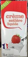 Crème entière liquide (30 % MG) - Produit - fr
