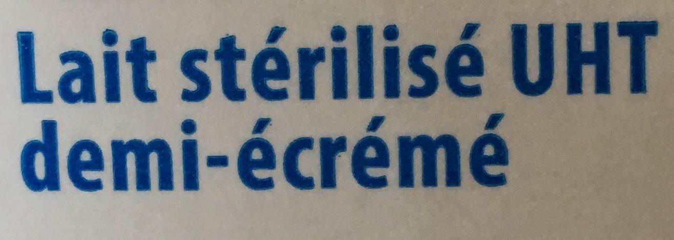 Lait Demi Écrémé - Ingredients