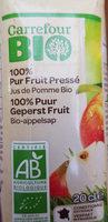 Carrefour BIO 100% pur fruit pressé - Produit - fr