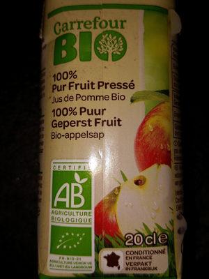 Carrefour BIO 100% pur fruit pressé - Ingredienti - fr