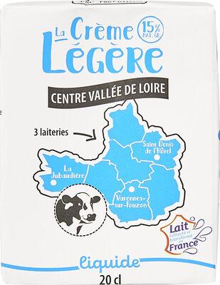 Crème légère liquide (15% MG) - Produit - fr