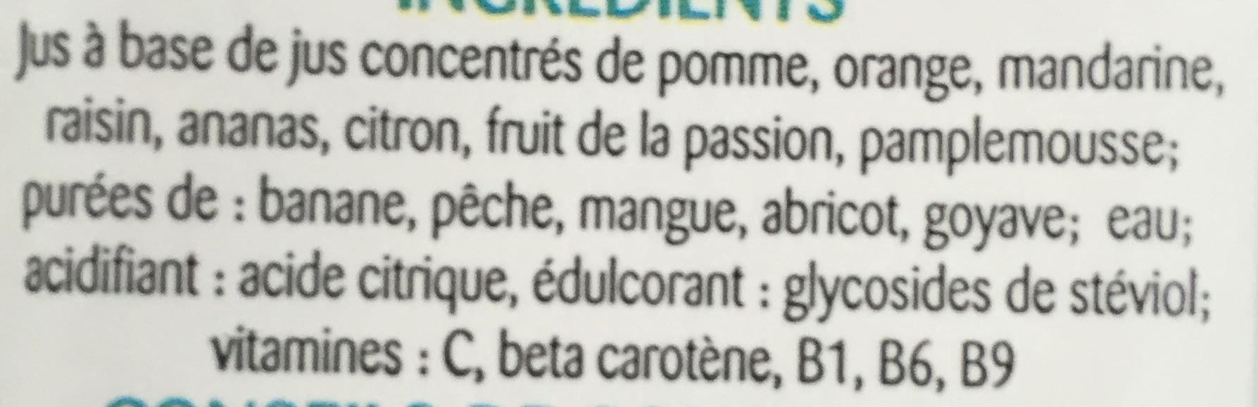 Multi Enrichi en Vitamines B1, B9, B6, C et A - Ingrédients - fr