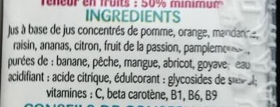 Multi Enrichi en Vitamines B1, B9, B6, C et A - Ingrediënten