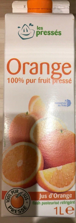 Orange 100% Pur Fruit Pressé - Produit - fr
