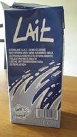 Lait stérilisé UHT - Produit