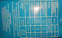 Lait demi-écrémé stérilisé UHT - Ingredients - fr
