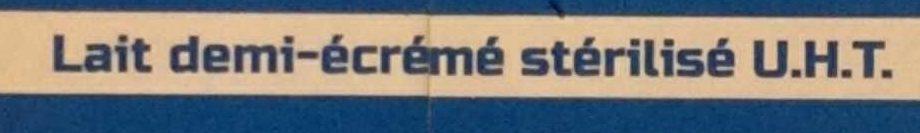 Lait demi-écrémé UHT C'est qui le Patron ?! - Inhaltsstoffe - fr