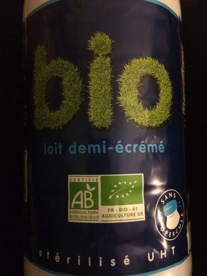 Lait bio - Nutrition facts