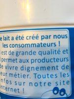 Lait demi-écrémé stérilisé UHT - Ingrediënten