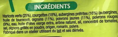 Poêlée Provençale - Ingredients