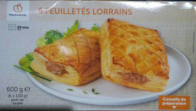 6 Feuilletés Lorrains - Product - fr