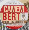 Camembert au lait pasteurisé - Product