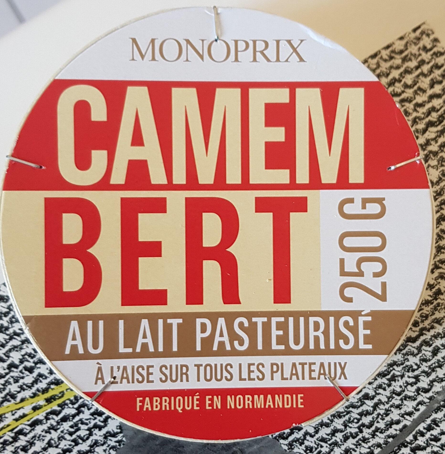 Camembert au lait pasteurisé - 产品 - fr