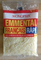 Emmental Français Râpé (29 % MG) - Produit - fr