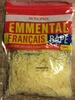 Emmental Français Râpé (29 % MG) - Produit