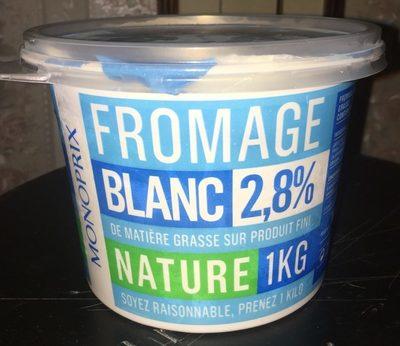 Fromage blanc 2,8% de matière grasse Monoprix - Product - fr