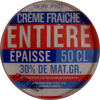 Crème fraîche entière épaisse 50 cl 30% de mat. gr. Monoprix - Product