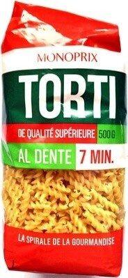 Torti (Al dente 7 min.) - Produit - fr