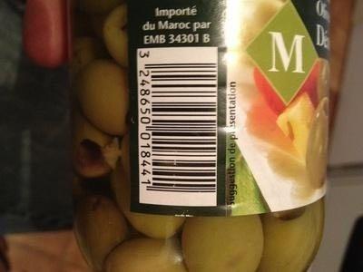 Olives vertes dénoyautées - Product - en