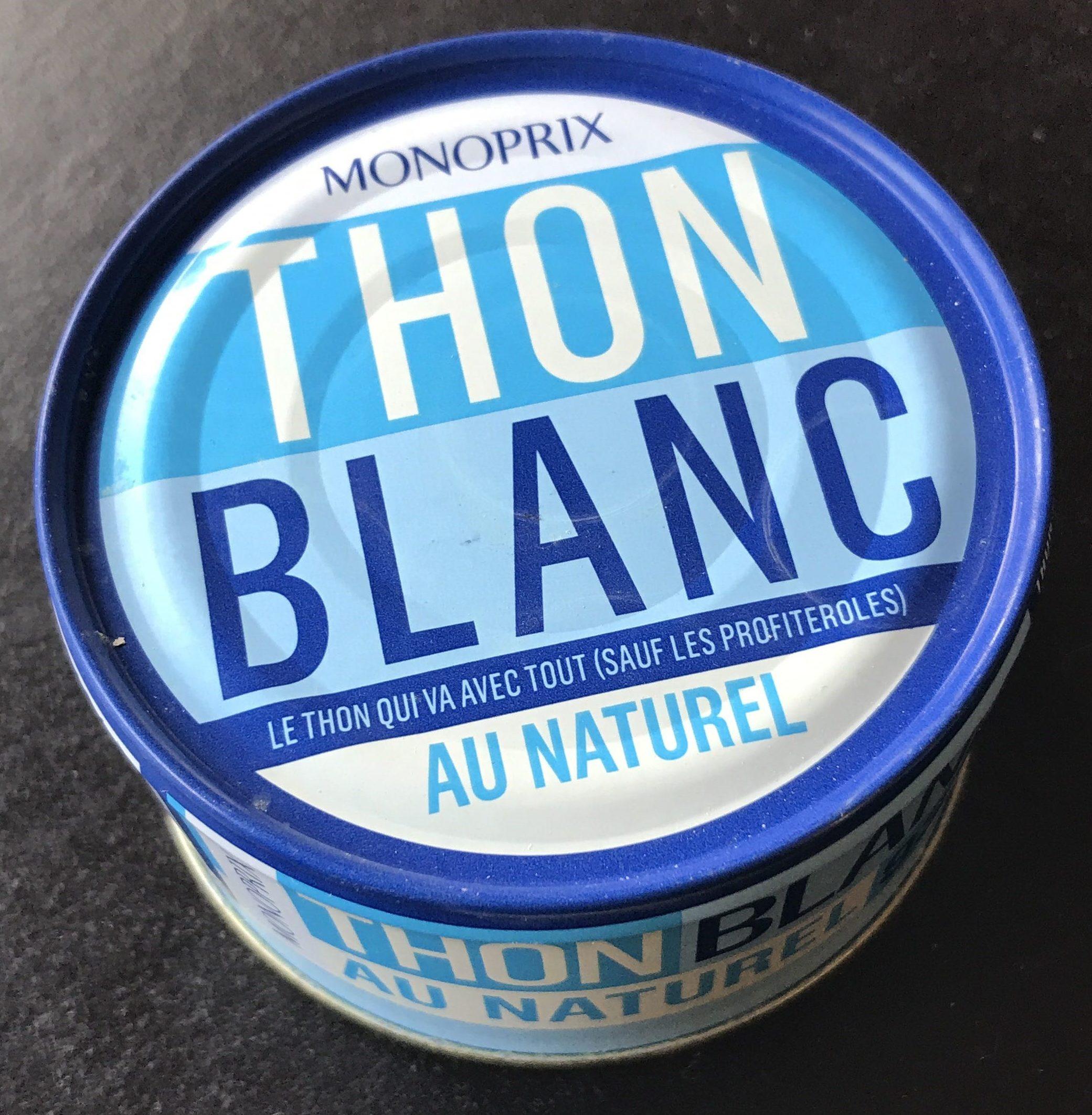 Thon blanc au naturel - Prodotto - fr
