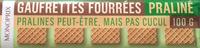 Gaufrettes Fourrées Praliné - Product