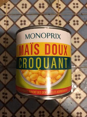 Maïs doux croquants - Produit
