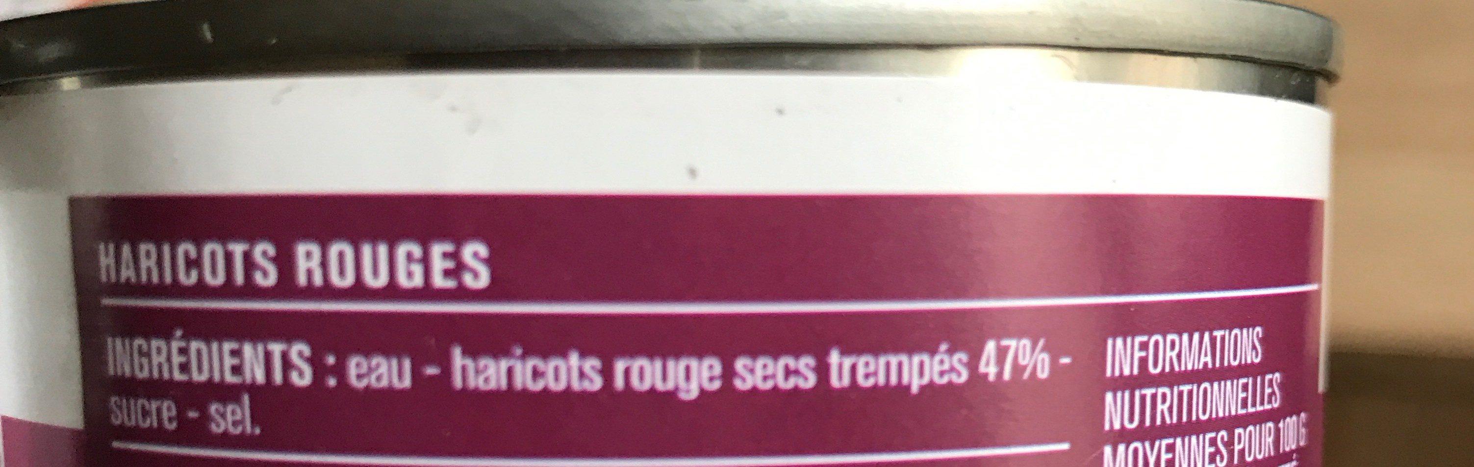 Haricots rouges - Ingrédients - fr