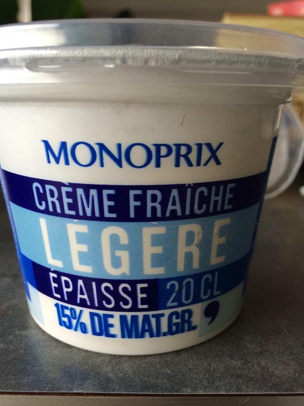 Crème Fraîche Légère - Produit