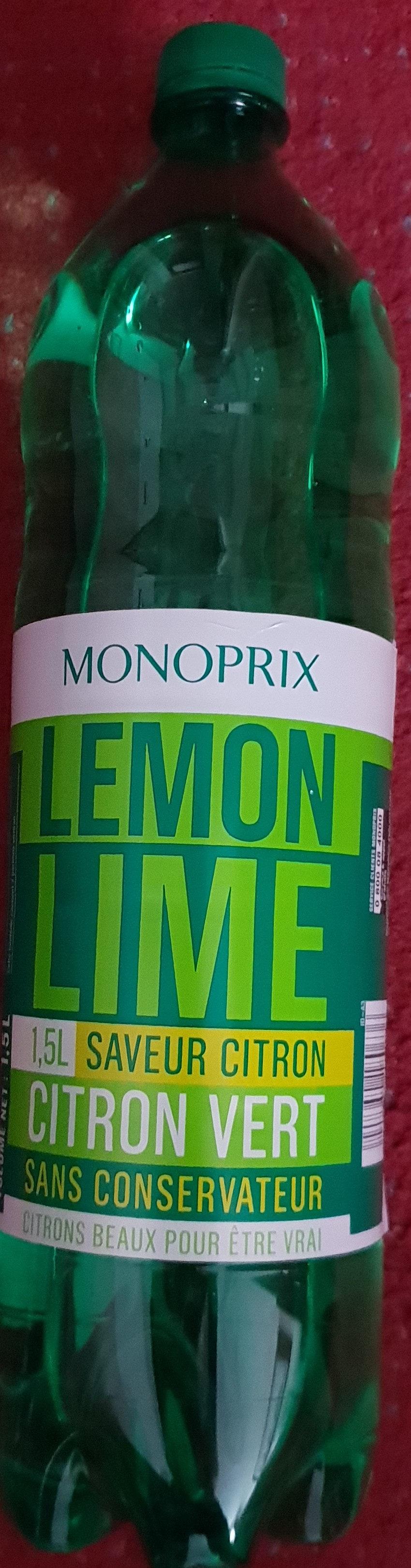 Soda Lemon Lime - Product - fr