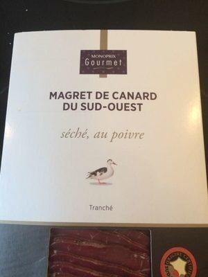 Magret de canard du Sud-Ouest séché au poivre - Product - fr
