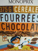 Fourrées chocolat - Produit - fr
