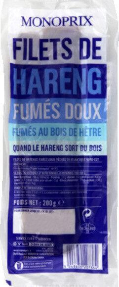 Filets de harengs, doux et fumés au bois de hêtre - Produit - fr