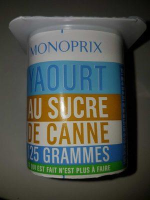 Yaourt au Sucre de Canne - Product