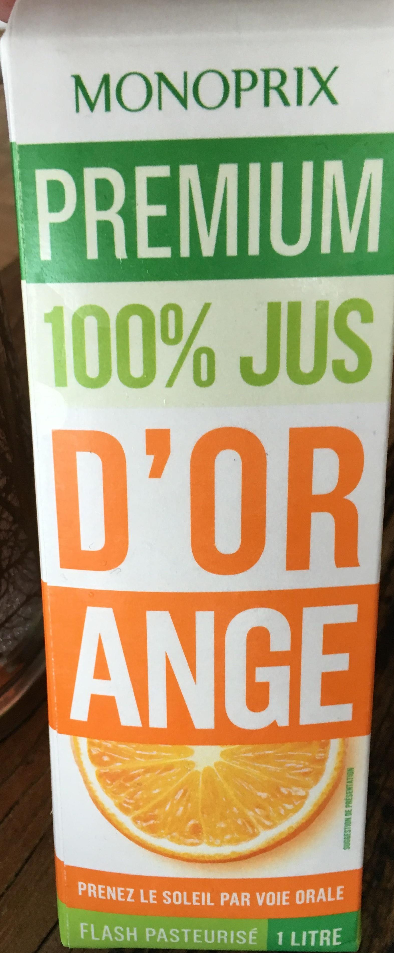 Premium 100% Jus d'orange - Product - fr