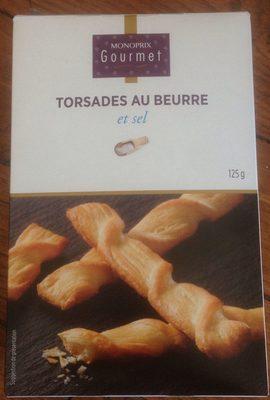 Torsades au Beurre et Sel - Produit