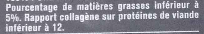 2 Steaks Hachés Façon Bouchère - Informations nutritionnelles - fr