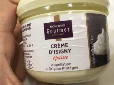 Crème fraîche d'Isigny Épaisse - Product - fr