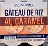 Gâteau de riz au caramel - Product