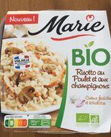 Risotto au poulet et champignons - Product
