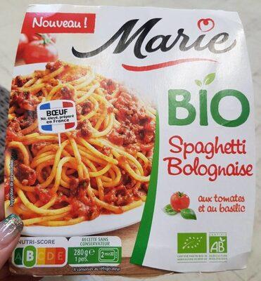 Spaghetti bolognaise - Produit - fr