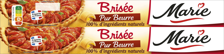 Pâte à tarte brisée - Pur beurre - Product - fr